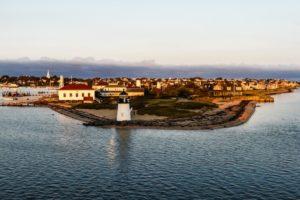 A lighthouse on Nantucket, MA - USA