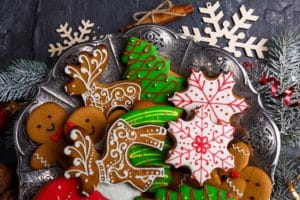 Christmas cookies from the Holiday Cookie Stroll