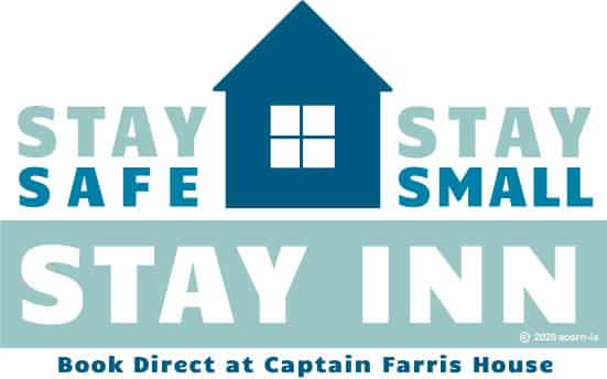 Stay Safe, Stay Small, Stay Inn Logo